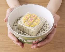 midori no tanuki cube instant noodles rubik s cube