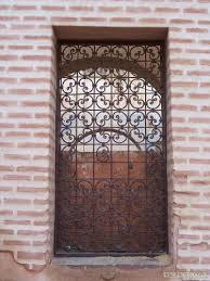 photo le fer forgé portes et fenêtres marrakech maroc sur