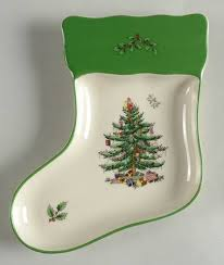 Spode Christmas Tree Mug And Coaster Set by Spode Christmas Tree Green Trim At Replacements Ltd Page 1