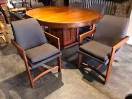 Vintage Danish Inspired Dining Setting From England Mid Century