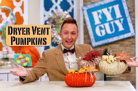 Dryer Vent Pumpkins Tutorial by Fyi Guy Dryer Vent Pumpkins Youtube
