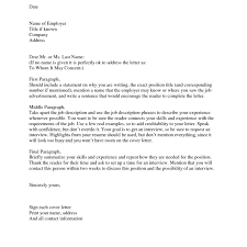 Example Of A Great Cover Letter For Job Resume Examples Good When