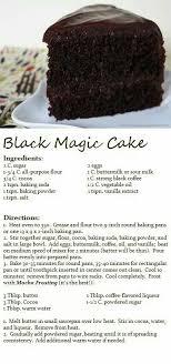 Black magic cake Decadent Desserts Pinterest
