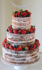 Victoria Sponge Wedding Cake Lower Cost Less Frosting More Fruit Is Served On