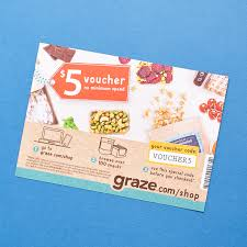 Graze Coupon Code I Have Several Coupons For Free Graze Boxes And April 2019 Trial Box Review First Free 2 Does American Airlines Veteran Discounts Bodybuilding Got My First Box From They Send You Healthy Snacks How Much Is Chicken Alfredo At Olive Garden Grazecom Pioneer Woman Crock Pot Mac Amazin Malaysia Coupon Shopcoupons Bosch Store Promo Code Cheap Brake Near Me 40 Off Code Promo Nov2019 Jetsmarter Dope Coupon