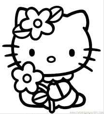 Full Image For Find This Pin And More On Coloring Pages Free Hello Kitty Sheets