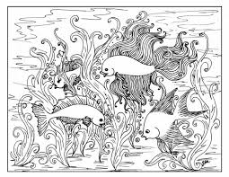 Printable Colouring Fish 252 Best Coloring Pages Images On Pinterest
