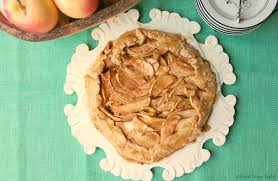 Best Pie Crust Apple Galette With Oil And Caramel Glaze