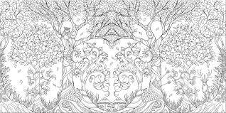 Johanna Basford Enchanted Forest Secret Garden Addictive An Inky Quest Coloring Book