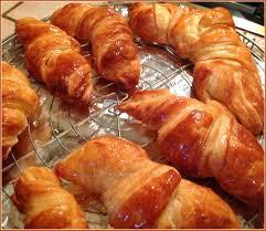 pâte levée feuilletée pour réaliser de jolis croissants et de