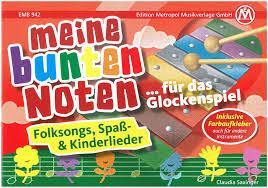 notenhefte für glockenspiel metropol musikverlage