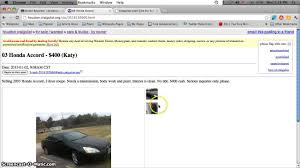 Craigslist Cars Under 600 Dollars - YouTube