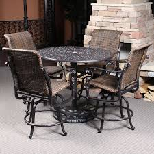 5 Piece Bar Height Patio Dining Set by Best 25 Bar Height Patio Set Ideas On Pinterest Diy Cable Spool