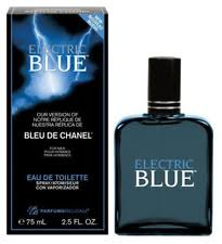 parfums belcam electric blue version of bleu de chanel eau