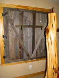 What A Cool Ideainstead Of Window Treatments Barn Doors EVERY