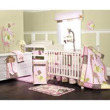 Sweet Jojo Designs Crib Bedding by Girls Monkey Crib Bedding Monkey Nursery And Babies