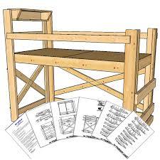 innovative bunk loft bed plans best design ideas 7970