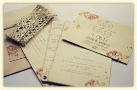 Rustic Pink Rose Wedding Stationery With Linen Paper