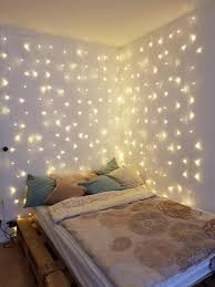 schlafzimmer lichterkette an der decke galerien milt s dekor