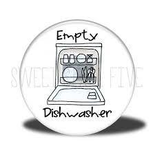 Empty Dishwasher Chore Magnet