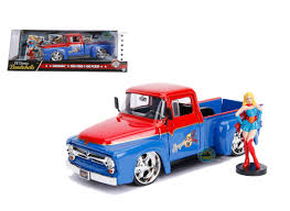 1956 Ford F-100 Truck DC Comics Bombshells With Supergirl Figure 1 ... Ringbrothers Ford F100 Bows Sema 2017 Authority M2 Machines Automods Release 6 1969 Ranger Truck 1957 Pickup Hot Rod Network 1951 Stock T20149 For Sale Near Columbus Oh Why Nows The Time To Invest In A Vintage Bloomberg 1960 Forgotten Effie Photo Image Gallery Greenlight Allterrain Series Fordf100inspired Trophy Shows Off Its Brawn In The Desert Big Window Parts Calling All Owners Of 61 68 Trucks 164 Cacola 2 1956 Free 1966