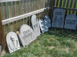 Halloween Graveyard Fence by Prop Showcase Show Us Your Stones Page 15