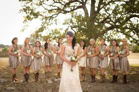 Beautiful Country Style Wedding Bridesmaid Dresses Weddings And Rustic