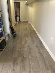 Vinyl Plank Flooring Kitchen 8 7 In X 47 6 Sterling Oak Luxury