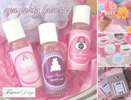 Bring The Relaxation To Your Party With Spa Favors