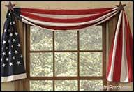Checkered Flag Window Curtains by Decorative Window Curtain Swags