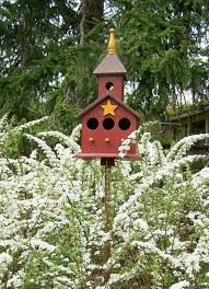 Outdoor Painted Backyard Birdhouse - Decorate Your Garden With ... Backyard Birdhouse Youtube Free Images Insect Backyard Garden Inverbrate Woodland Amazoncom Boys Woodworking Bbw81 Cardinal Nest Box Bird House Decorative Little Wren Haing Yard Envy Table Lawn Home Green Lighting Wooden Modern Take On A Stuff We Love Pinterest Shop Glory 8125in W X 85in H 8in D White Discovery Channel Birdhouse Wooden Nesting Baby Birds In My Bird House How To Make Spring Diy Craft For Kids Couponscom