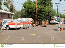 U-Haul Rental Place Editorial Stock Photo. Image Of Company - 99183528