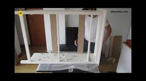 Bissa Shoe Cabinet Manual by Cómo Montar Zapatero Ikea Serie Hemnes Subtitles Youtube