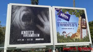 Knotts Berry Farm Halloween 2016 by Knott U0027s Scary Farm Build Update 9 1 15