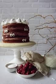 schaurige schoko kirsch torte