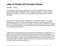 Letter of Job Interest