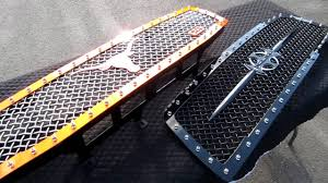 Nissan Titan Custom Truck Grilles - YouTube Xgrill Extreme Grilling Truck Fleet Owner Man Trucks Grill In Europe Truck Accsories Freightliner Grills Volvo Kenworth Kw Peterbilt Remington Edition Offroad 62017 Gmc Sierra 1500 Denali Grilles Bold New 2017 Ford Super Duty Now Available From Trex Truck Grill Photo Gallery Salvaged Vintage Williamsburg Flea United Pacific Industries Commercial Division Dodge Grills 28 Images Custom Grill Mesh Kits For Custom Coeur D Alene Grille Options The Chevrolet Silverado Billet Your Car Jeep Or Suv