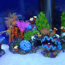 realistic artificial aquarium coral reef extra large polyp fish