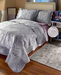 Monticello Quilted Faux Fur Bedding