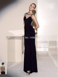 online get cheap simple black formal dress aliexpress com