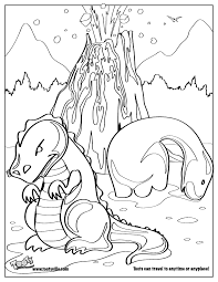Online Dinosaur Coloring Pages Book Area Best Source