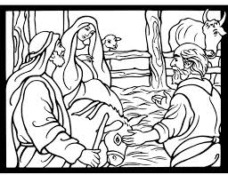 Welcome To Dover Publications Nativity Stained Glass Coloring Book