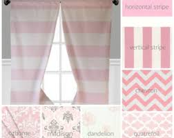 Peach Curtains For Nursery by Pink Curtains Etsy