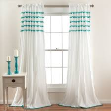 Walmart Better Homes And Gardens Sheer Curtains by Single Panel Window Curtain Designs Windows U0026 Curtains