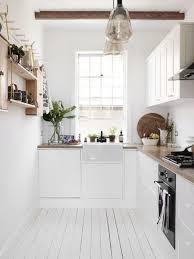 cuisine sol la cuisine blanche et bois en 102 photos inspirantes archzine fr