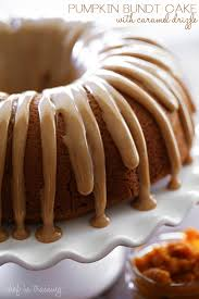 Pumpkin Spice Bundt Cake Using Cake Mix by Pumpkin Bundt Cake With Caramel Drizzle Chef In Training
