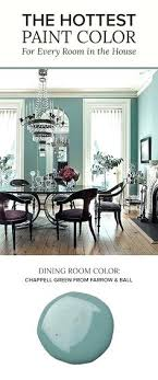 Dining And Living Room Paint Colors Painted In Farrow Balls Green