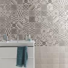 carrelage ceramique leroy merlin carrelage sol et mur blanc elliot l 15 x l 15 cm leroy merlin