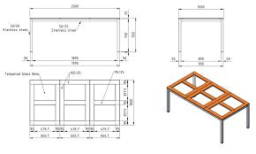 dining table sizes metric daze dimensions measurements home design