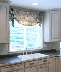 Kitchen Curtain Ideas For Large Windows by Valance Windows Valances For Kitchen Ideas Valance Bedroom Bay